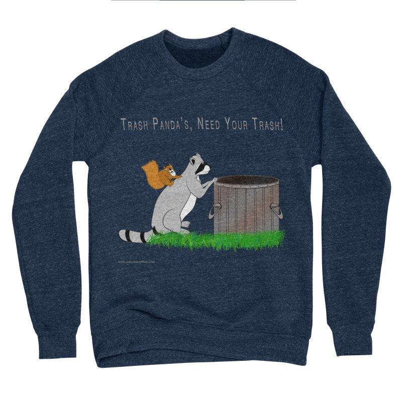 Ride Into The Trash Men's Sponge Fleece Sweatshirt by Every Drop's An Idea's Artist Shop