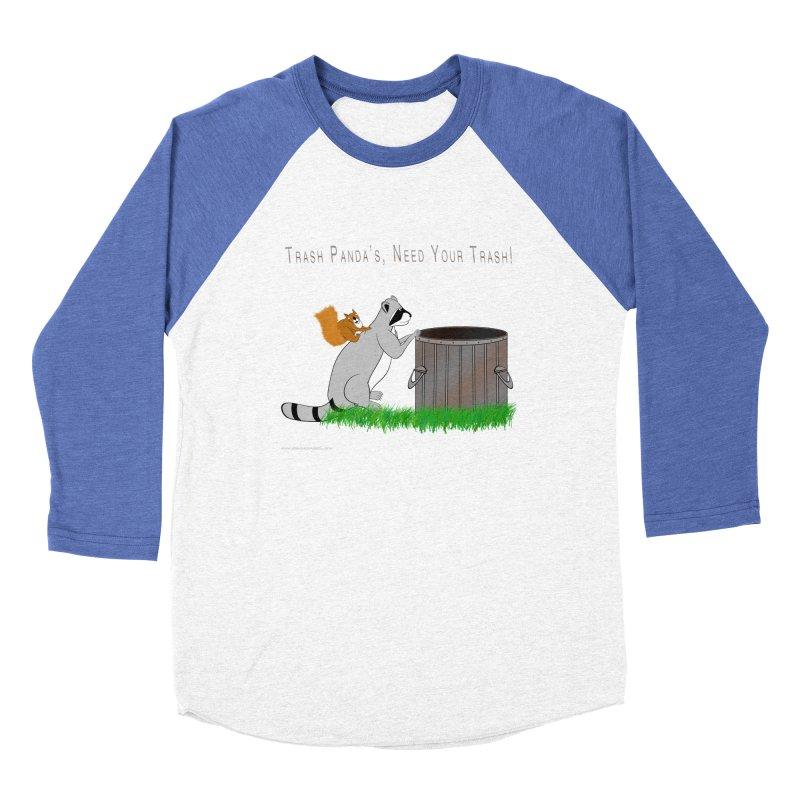 Ride Into The Trash Women's Baseball Triblend Longsleeve T-Shirt by Every Drop's An Idea's Artist Shop