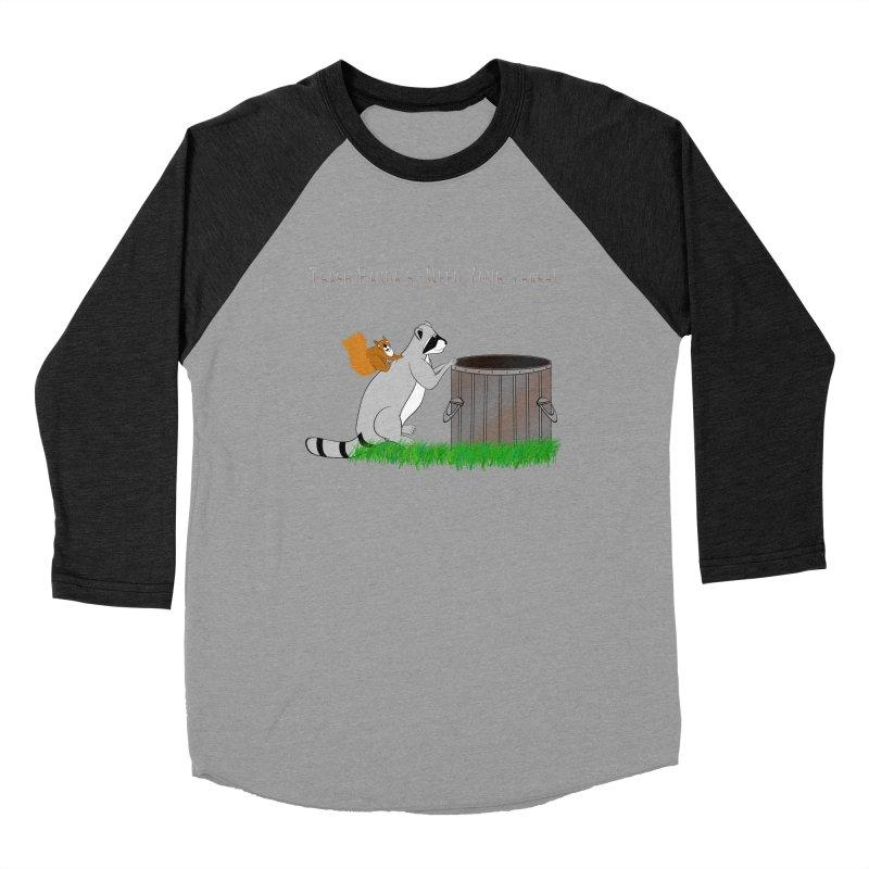 Ride Into The Trash Men's Baseball Triblend Longsleeve T-Shirt by Every Drop's An Idea's Artist Shop