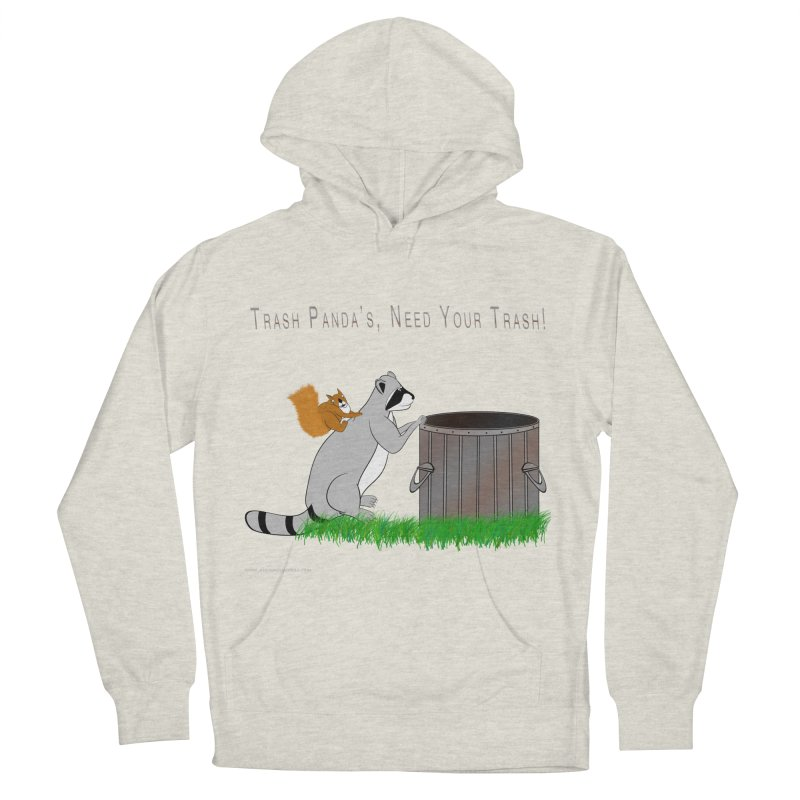 Ride Into The Trash Men's French Terry Pullover Hoody by Every Drop's An Idea's Artist Shop