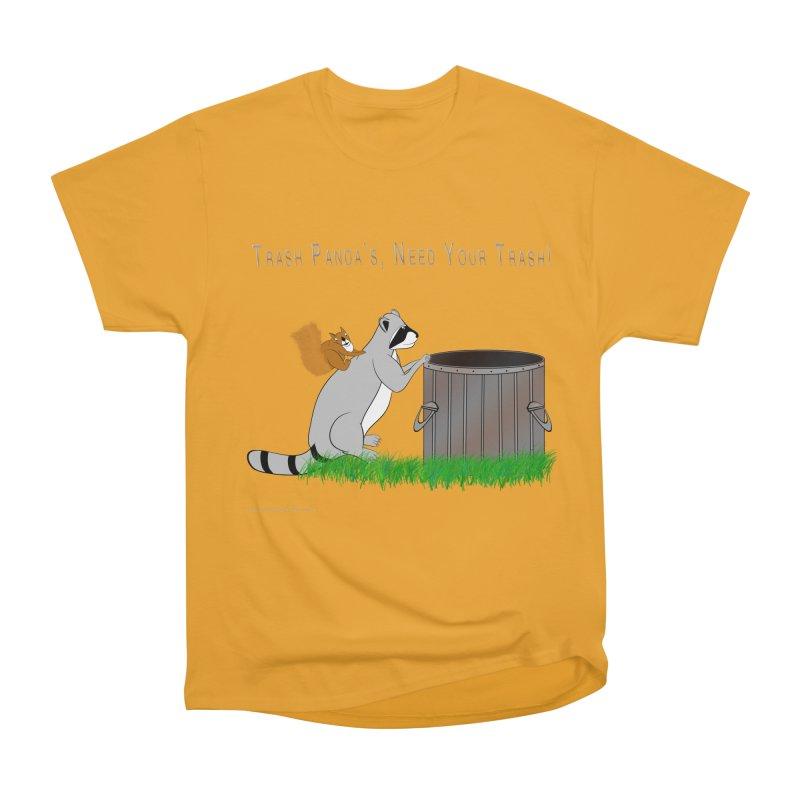 Ride Into The Trash Men's Heavyweight T-Shirt by Every Drop's An Idea's Artist Shop