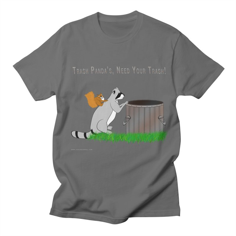 Ride Into The Trash Men's T-Shirt by Every Drop's An Idea's Artist Shop