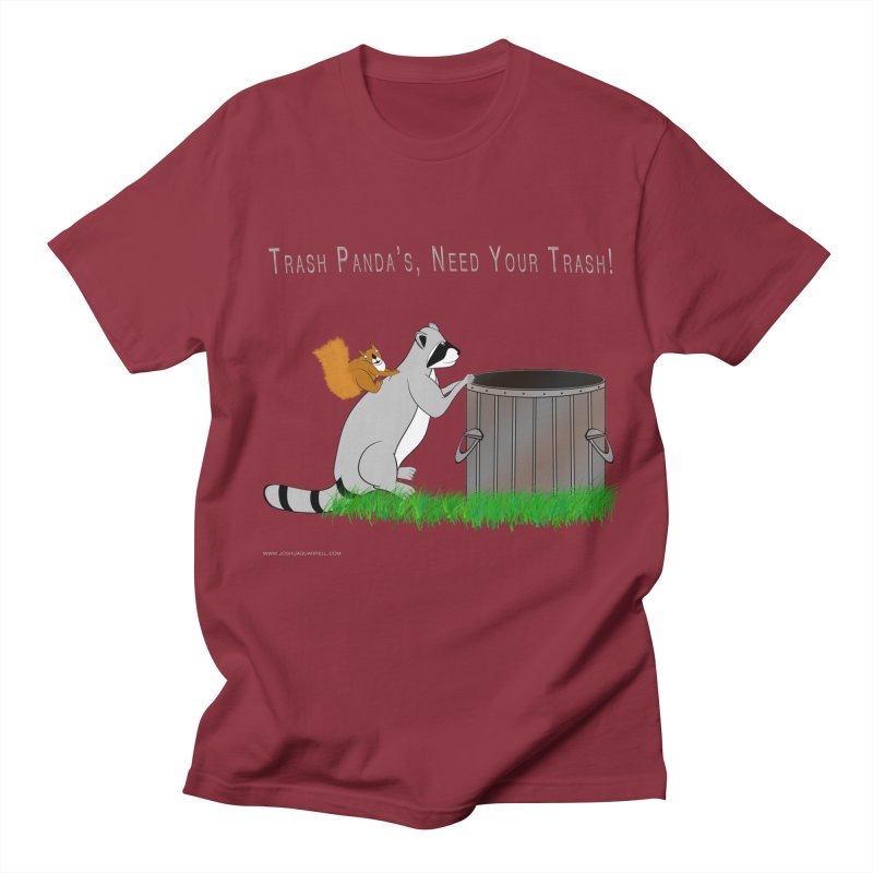Ride Into The Trash Men's Regular T-Shirt by Every Drop's An Idea's Artist Shop