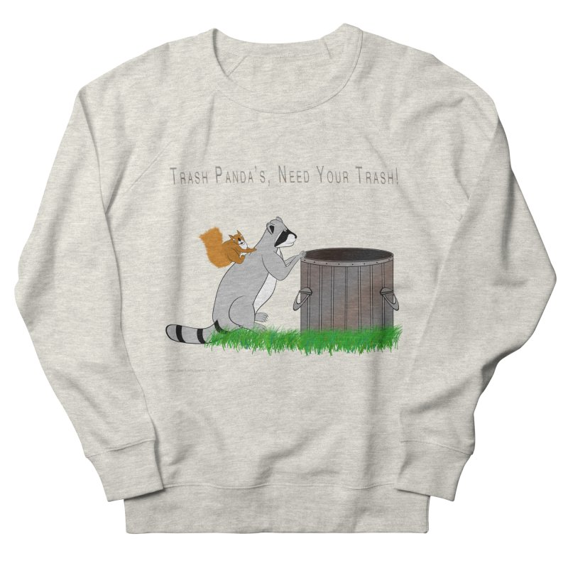 Ride Into The Trash Men's French Terry Sweatshirt by Every Drop's An Idea's Artist Shop