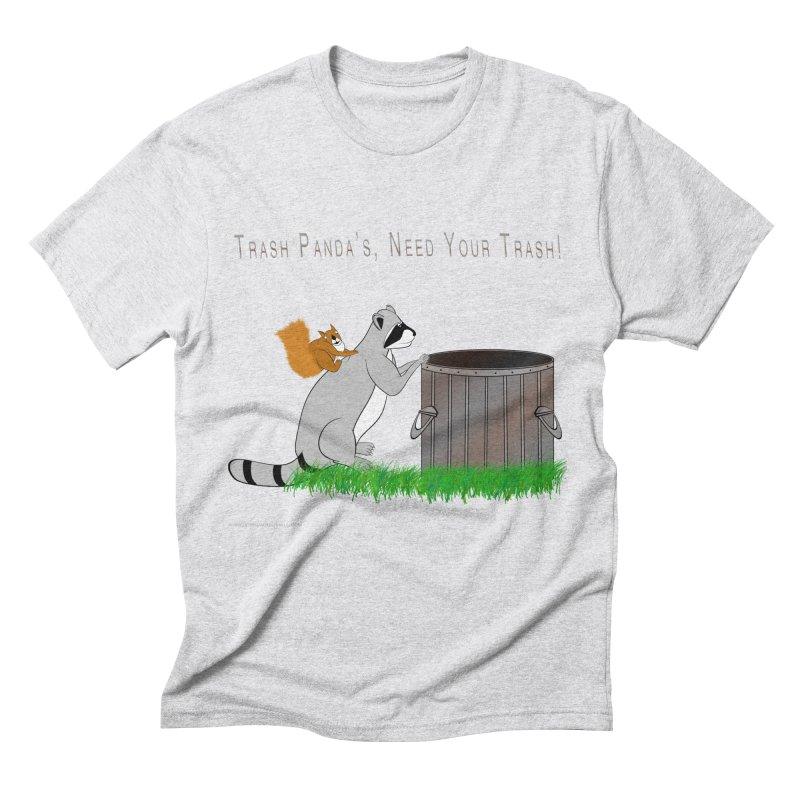 Ride Into The Trash Men's Triblend T-Shirt by Every Drop's An Idea's Artist Shop