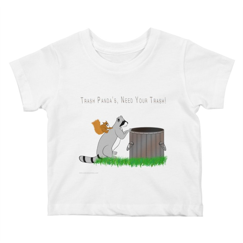 Ride Into The Trash Kids Baby T-Shirt by Every Drop's An Idea's Artist Shop