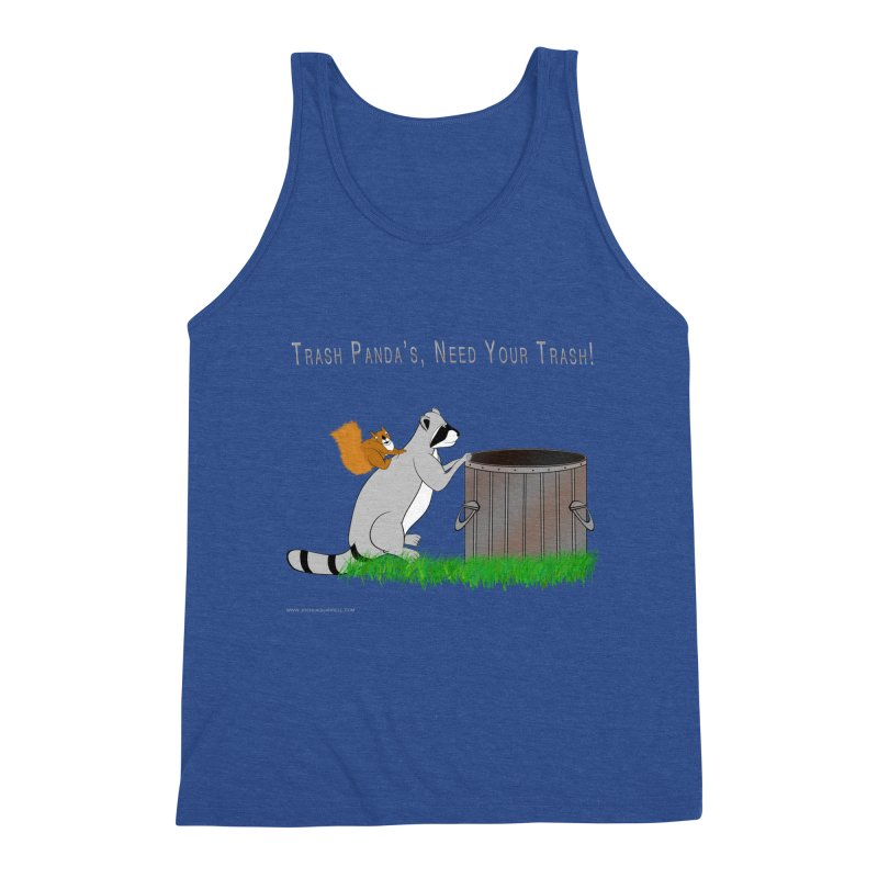Ride Into The Trash Men's Tank by Every Drop's An Idea's Artist Shop