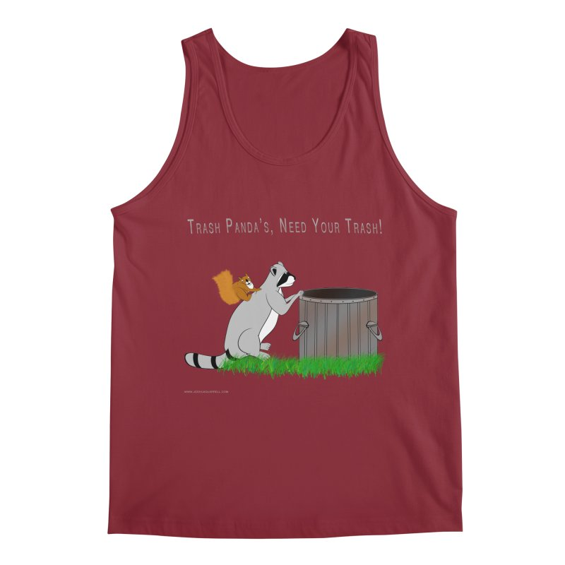 Ride Into The Trash Men's Regular Tank by Every Drop's An Idea's Artist Shop