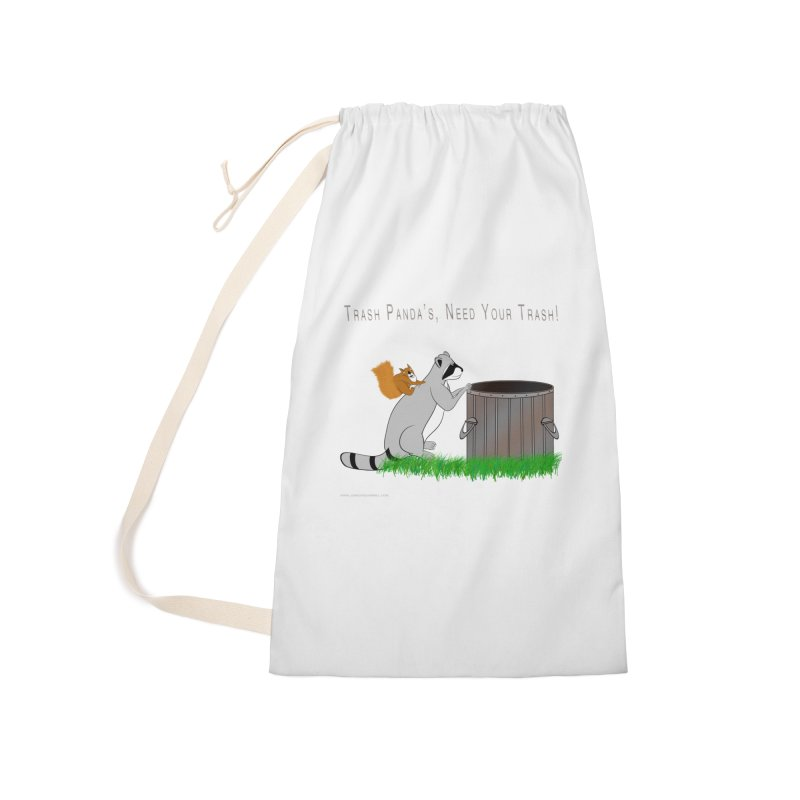 Ride Into The Trash Accessories Laundry Bag Bag by Every Drop's An Idea's Artist Shop