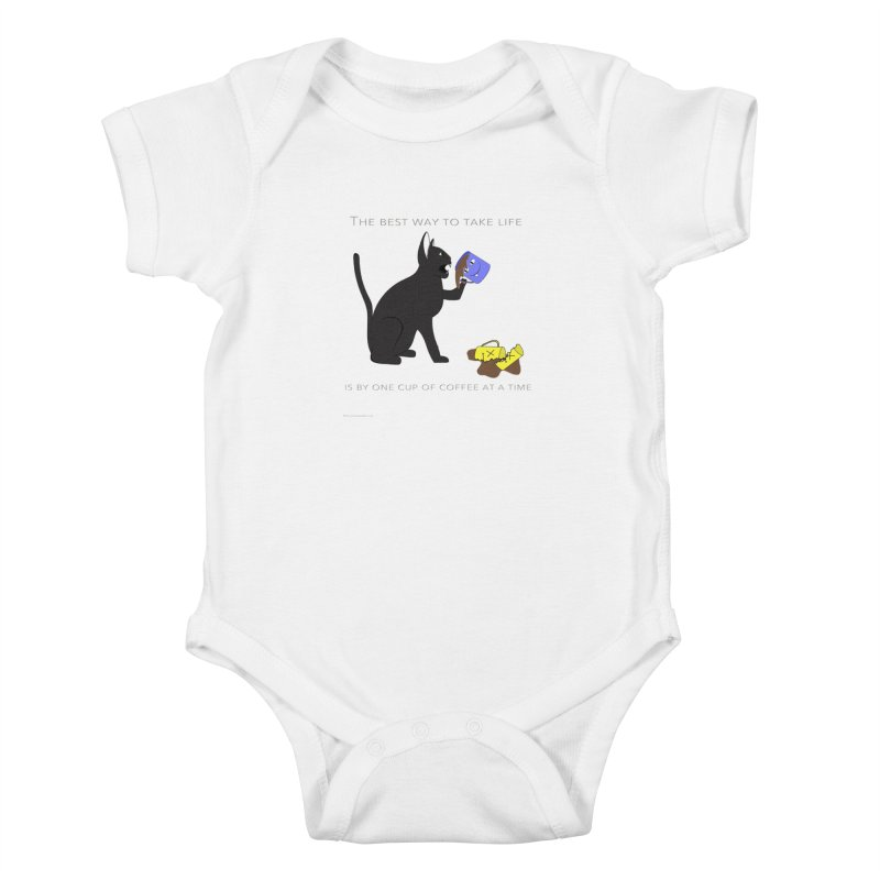 One Cup At A Time Kids Baby Bodysuit by Every Drop's An Idea's Artist Shop