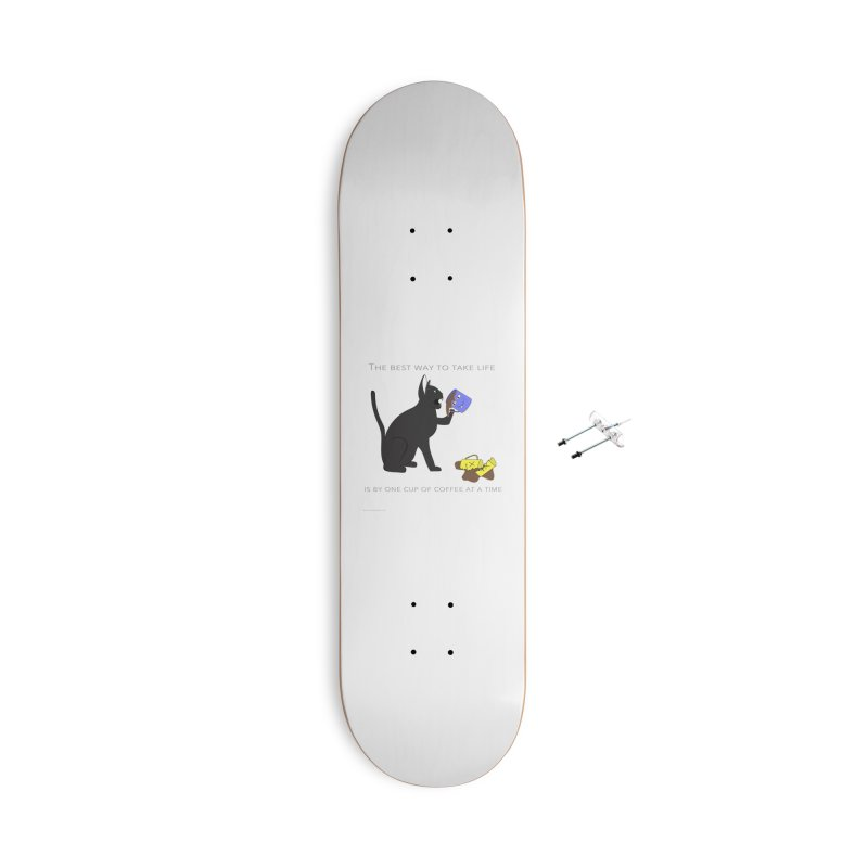 One Cup At A Time Accessories With Hanging Hardware Skateboard by Every Drop's An Idea's Artist Shop