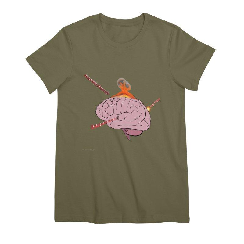 Mind Field Women's Premium T-Shirt by Every Drop's An Idea's Artist Shop