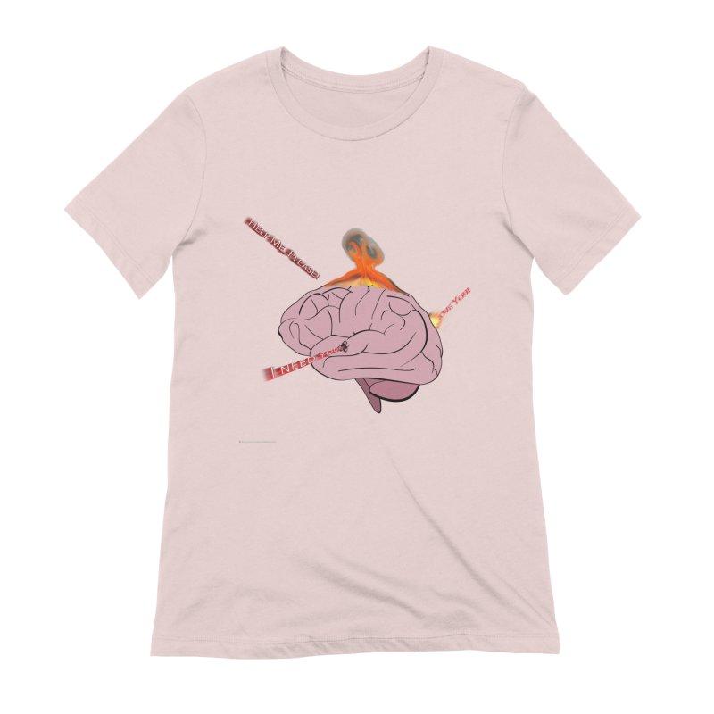 Mind Field Women's Extra Soft T-Shirt by Every Drop's An Idea's Artist Shop