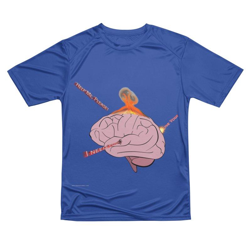 Mind Field Women's Performance Unisex T-Shirt by Every Drop's An Idea's Artist Shop