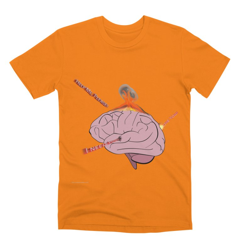 Mind Field Men's T-Shirt by Every Drop's An Idea's Artist Shop