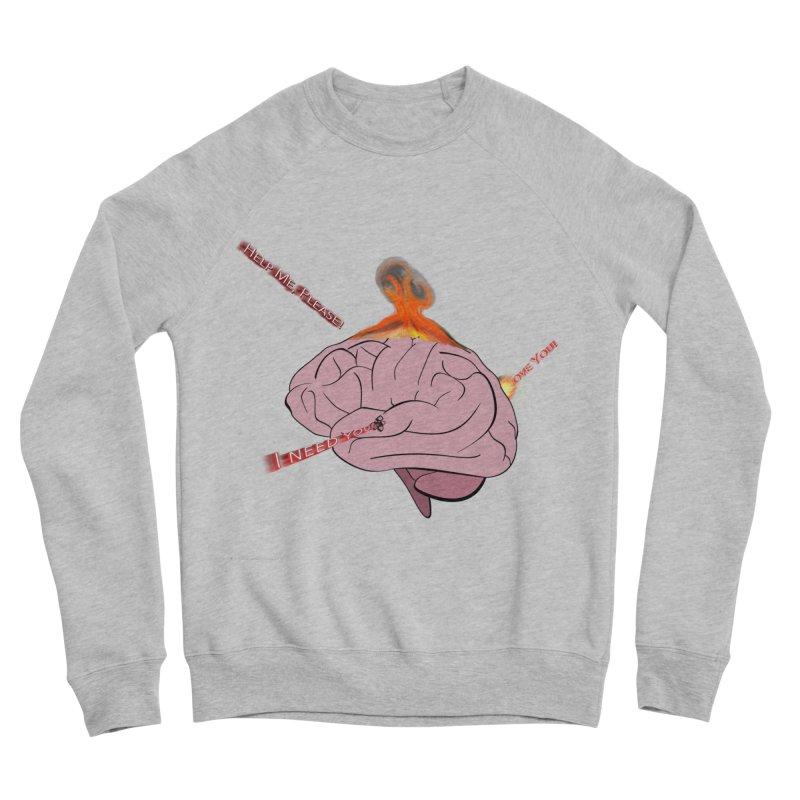 Mind Field Men's Sponge Fleece Sweatshirt by Every Drop's An Idea's Artist Shop