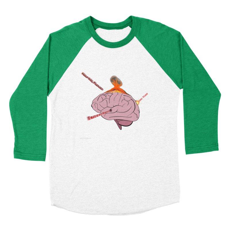 Mind Field Men's Baseball Triblend Longsleeve T-Shirt by Every Drop's An Idea's Artist Shop