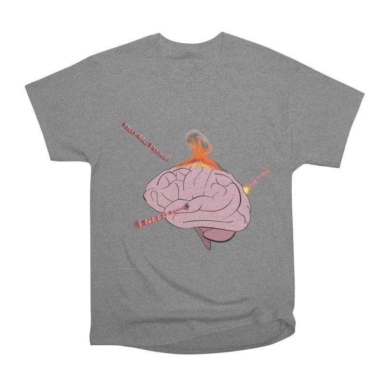 Mind Field Men's Heavyweight T-Shirt by Every Drop's An Idea's Artist Shop