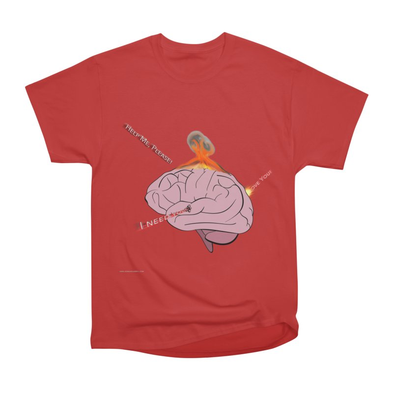 Mind Field Women's Heavyweight Unisex T-Shirt by Every Drop's An Idea's Artist Shop