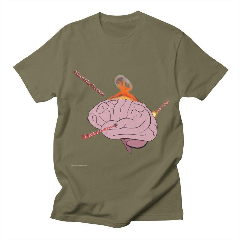 Mind Field Men's Regular T-Shirt by Every Drop's An Idea's Artist Shop