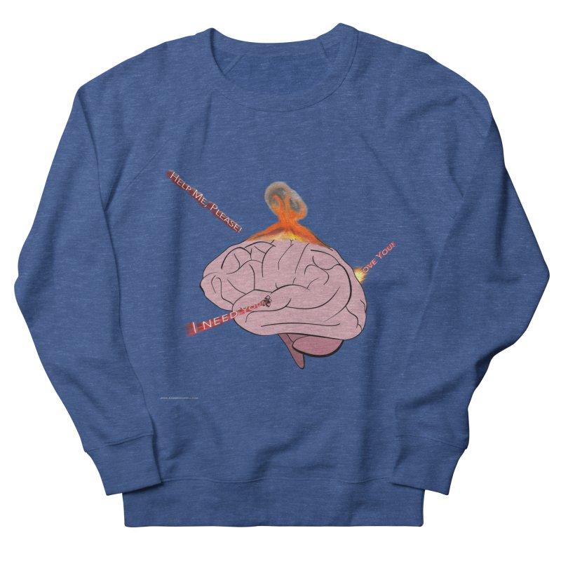 Mind Field Women's French Terry Sweatshirt by Every Drop's An Idea's Artist Shop