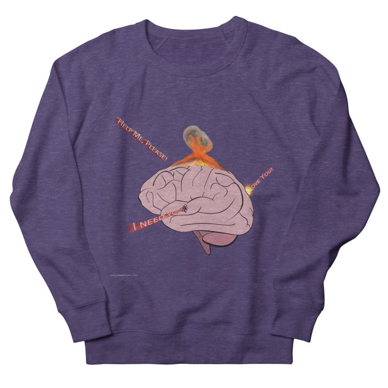 Mind Field Women's French Terry Sweatshirt by Every Drop's An Idea's Artist Shop