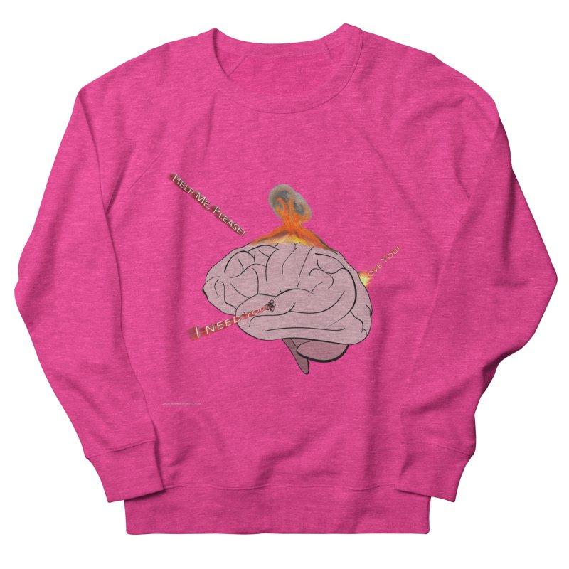 Mind Field Men's French Terry Sweatshirt by Every Drop's An Idea's Artist Shop