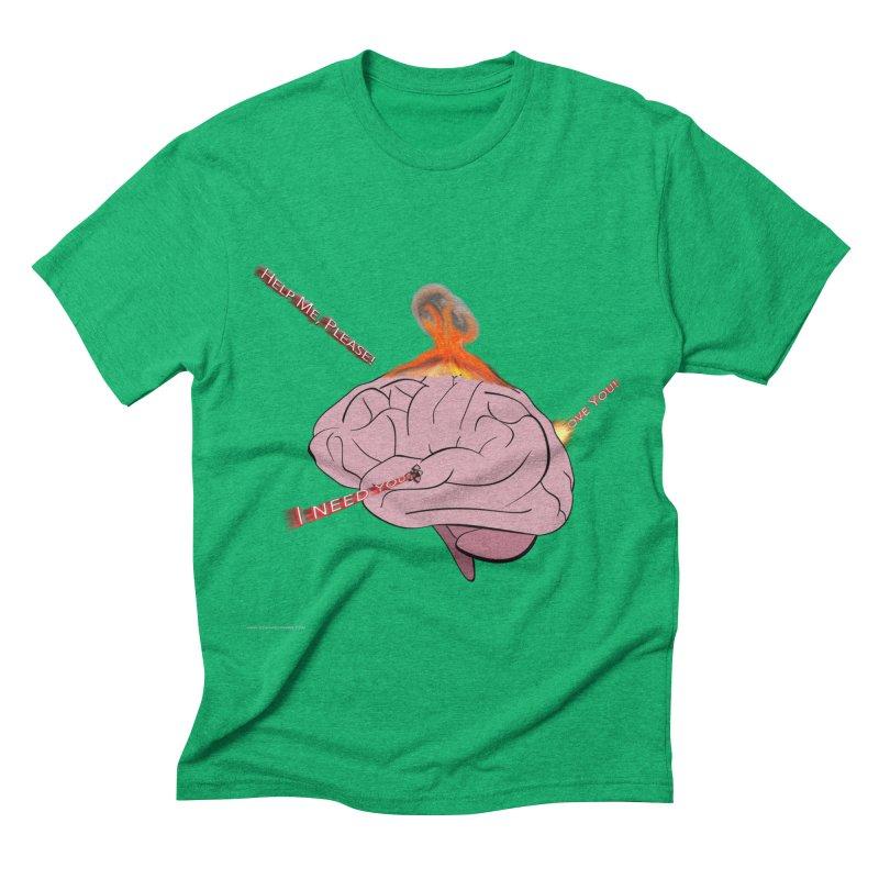 Mind Field Men's Triblend T-Shirt by Every Drop's An Idea's Artist Shop