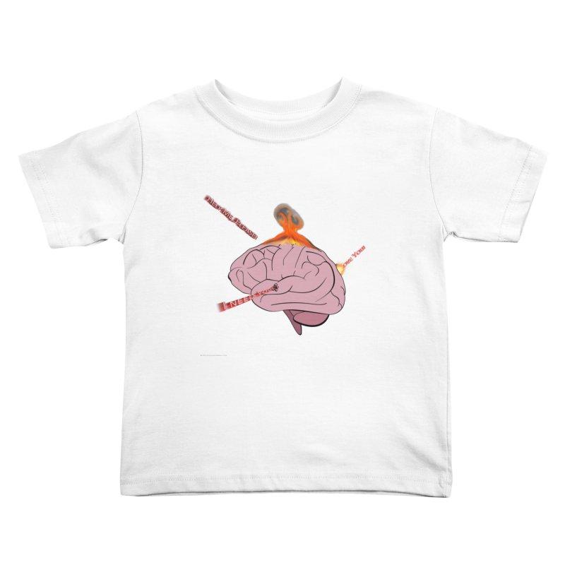 Mind Field Kids Toddler T-Shirt by Every Drop's An Idea's Artist Shop