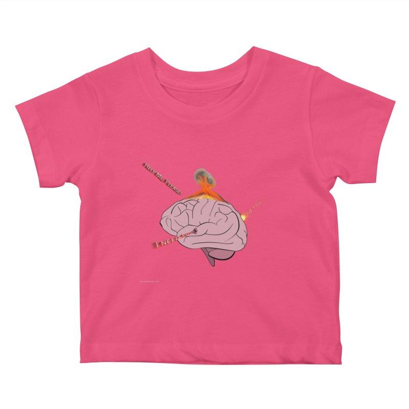 Mind Field Kids Baby T-Shirt by Every Drop's An Idea's Artist Shop
