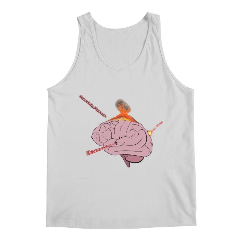 Mind Field Men's Regular Tank by Every Drop's An Idea's Artist Shop