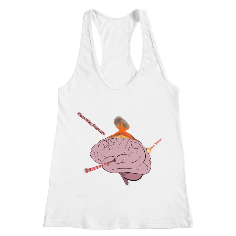 Mind Field Women's Racerback Tank by Every Drop's An Idea's Artist Shop