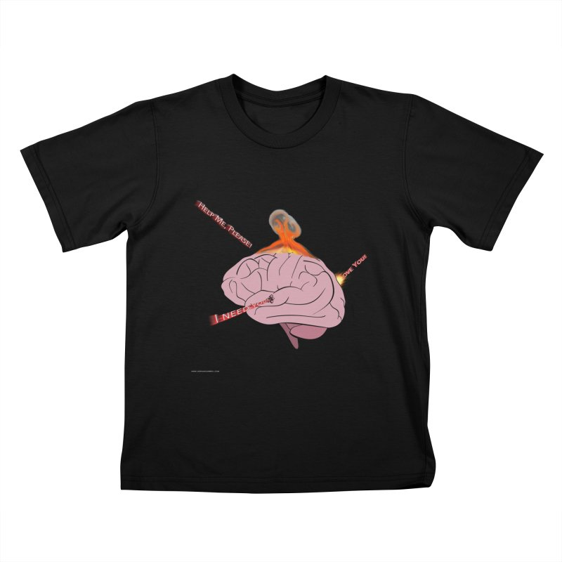 Mind Field Kids T-Shirt by Every Drop's An Idea's Artist Shop