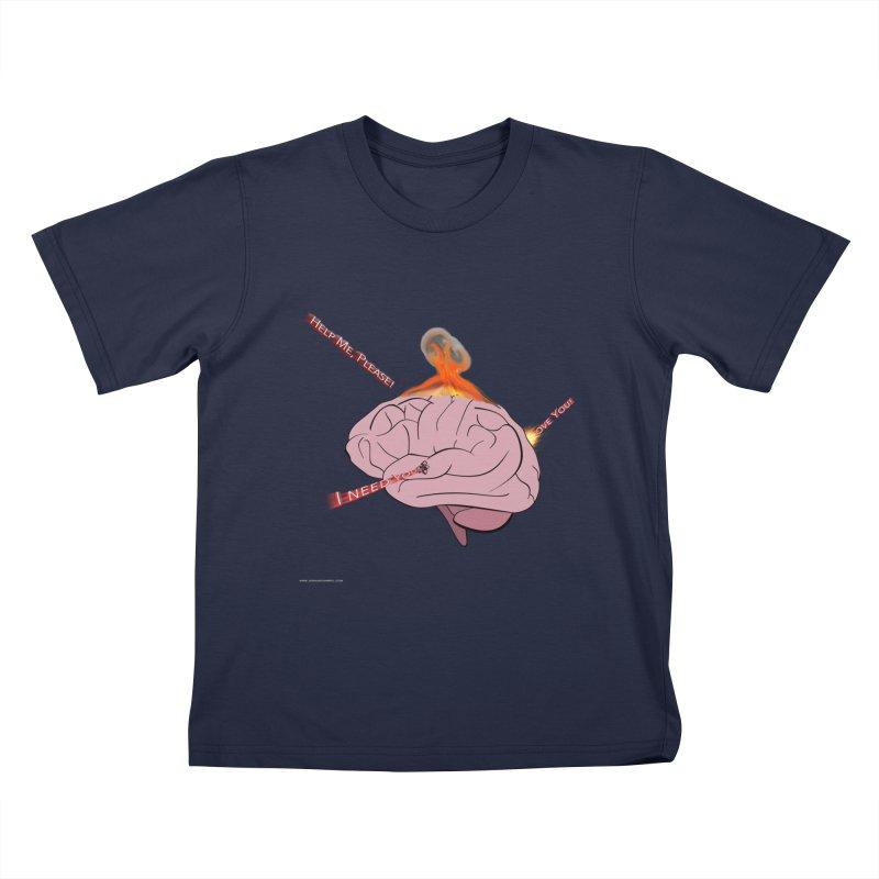 Mind Field Kids T-Shirt by Every Drop's An Idea's Artist Shop