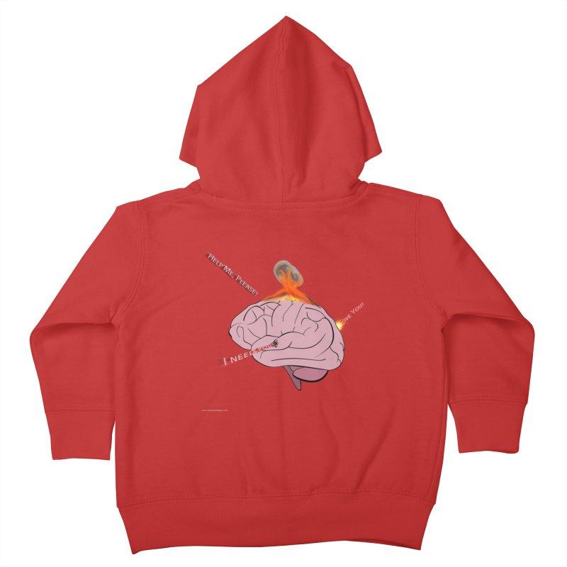 Mind Field Kids Toddler Zip-Up Hoody by Every Drop's An Idea's Artist Shop