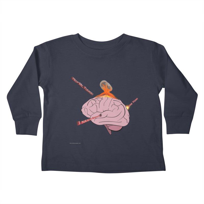 Mind Field Kids Toddler Longsleeve T-Shirt by Every Drop's An Idea's Artist Shop
