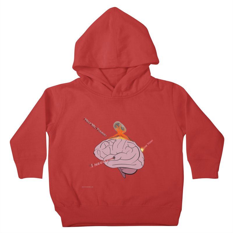 Mind Field Kids Toddler Pullover Hoody by Every Drop's An Idea's Artist Shop