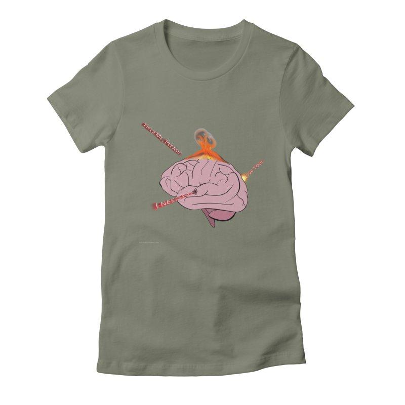 Mind Field Women's Fitted T-Shirt by Every Drop's An Idea's Artist Shop