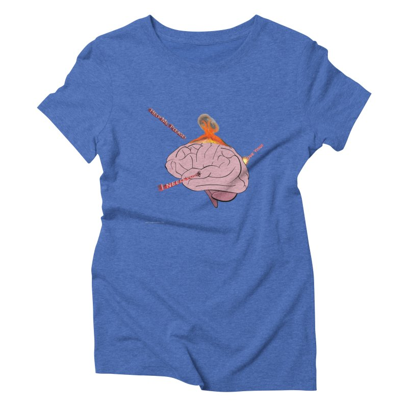 Mind Field Women's Triblend T-Shirt by Every Drop's An Idea's Artist Shop