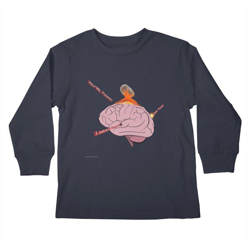 Mind Field Kids Longsleeve T-Shirt by Every Drop's An Idea's Artist Shop