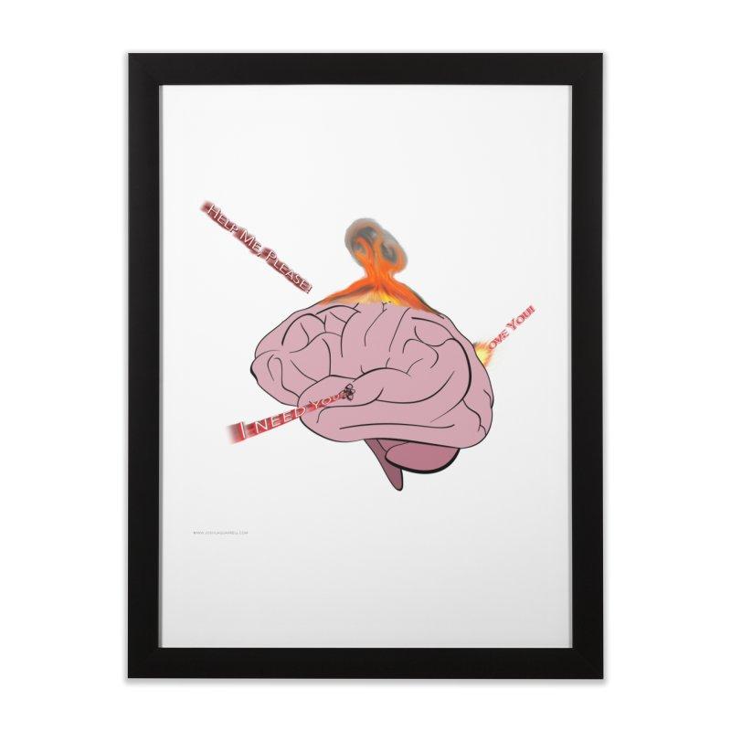 Mind Field Home Framed Fine Art Print by Every Drop's An Idea's Artist Shop
