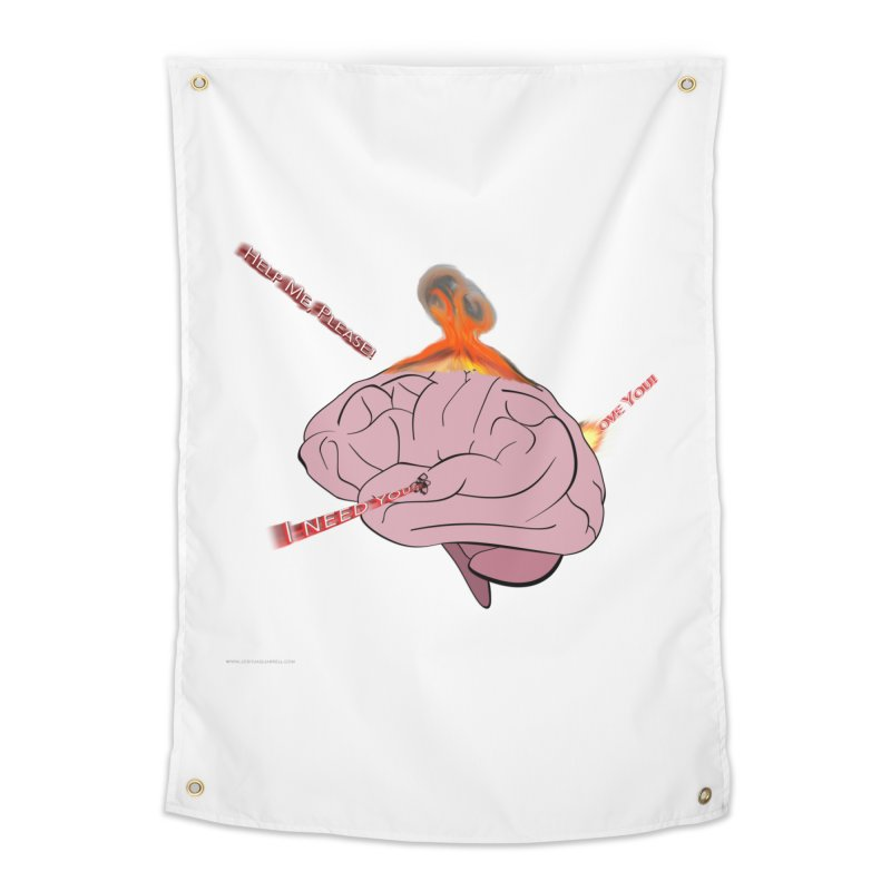 Mind Field Home Tapestry by Every Drop's An Idea's Artist Shop