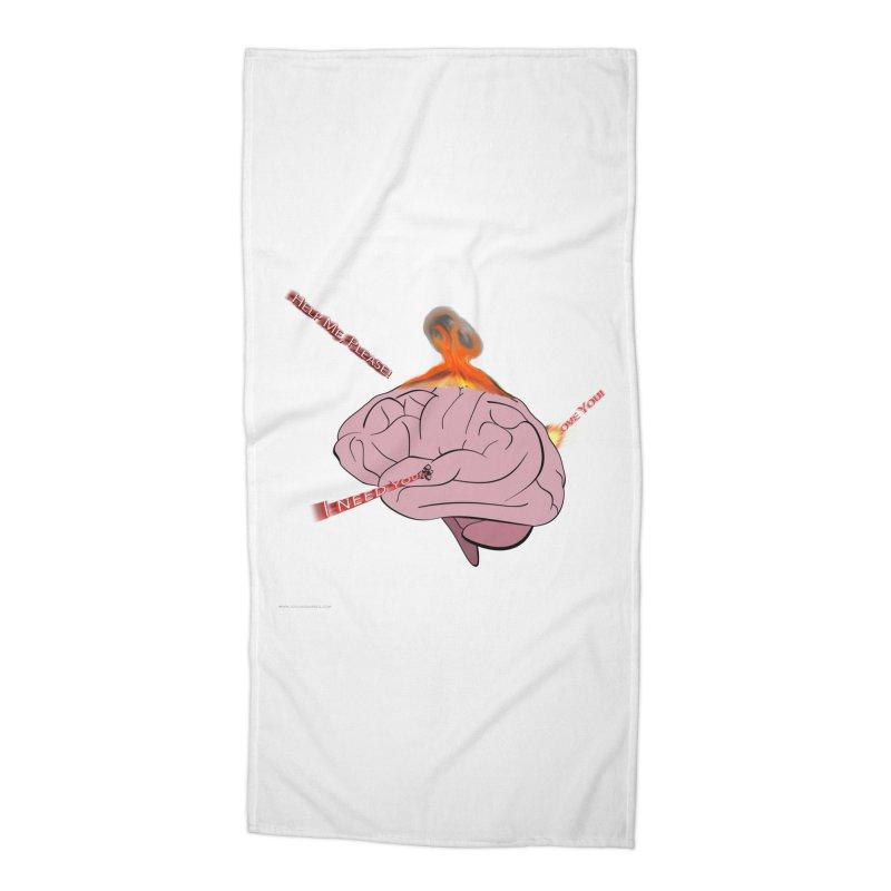 Mind Field Accessories Beach Towel by Every Drop's An Idea's Artist Shop