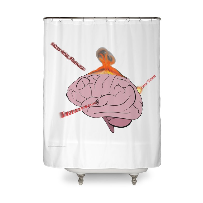 Mind Field Home Shower Curtain by Every Drop's An Idea's Artist Shop