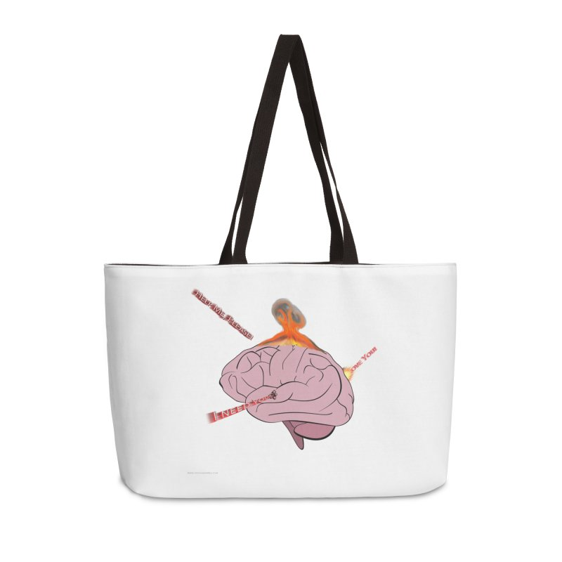 Mind Field Accessories Bag by Every Drop's An Idea's Artist Shop