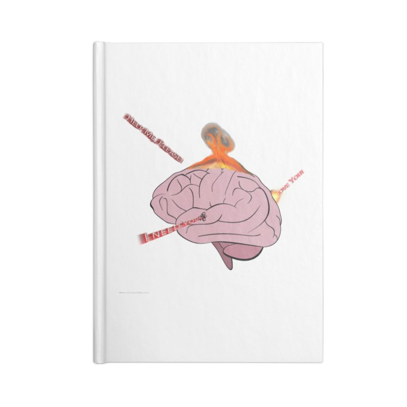Mind Field Accessories Lined Journal Notebook by Every Drop's An Idea's Artist Shop