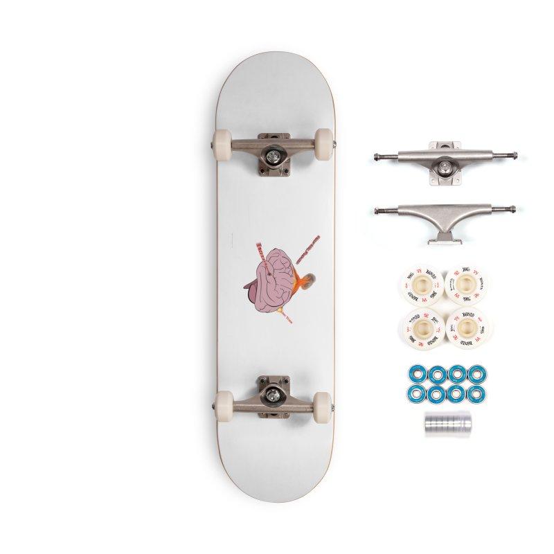 Mind Field Accessories Complete - Premium Skateboard by Every Drop's An Idea's Artist Shop
