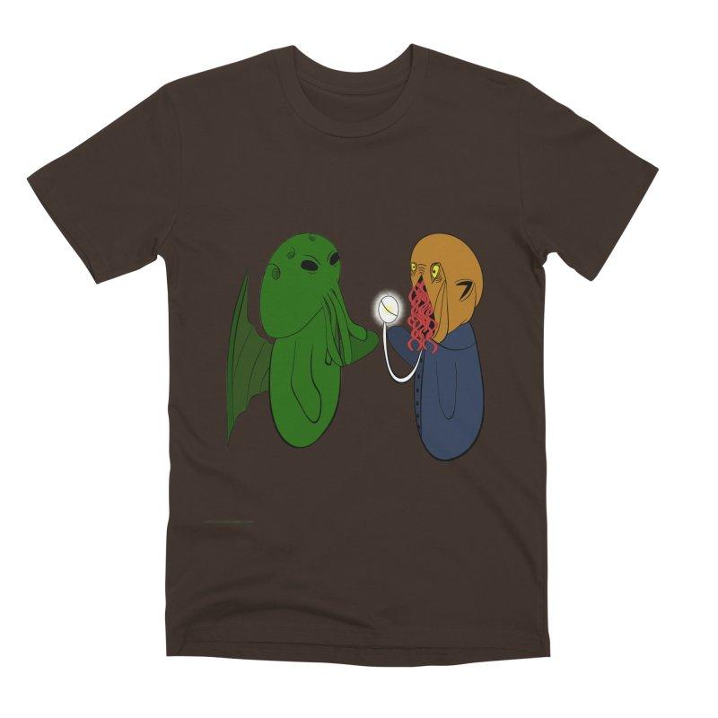 Cthulhu Meets Ood Men's Premium T-Shirt by Every Drop's An Idea's Artist Shop