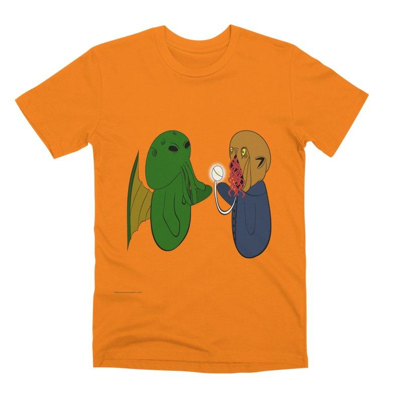 Cthulhu Meets Ood Men's T-Shirt by Every Drop's An Idea's Artist Shop