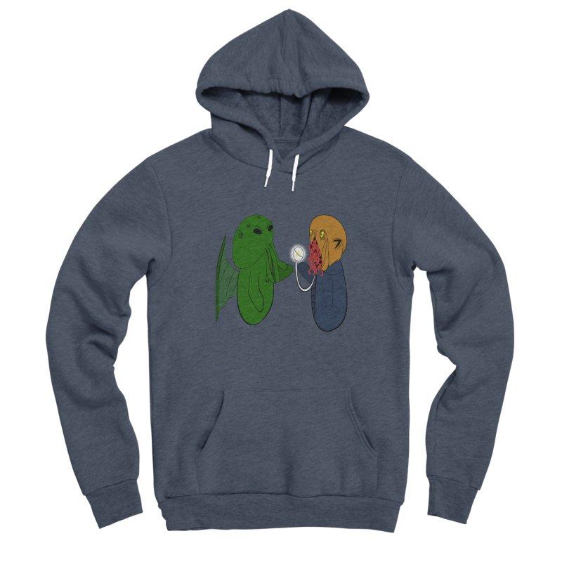 Cthulhu Meets Ood Women's Sponge Fleece Pullover Hoody by Every Drop's An Idea's Artist Shop